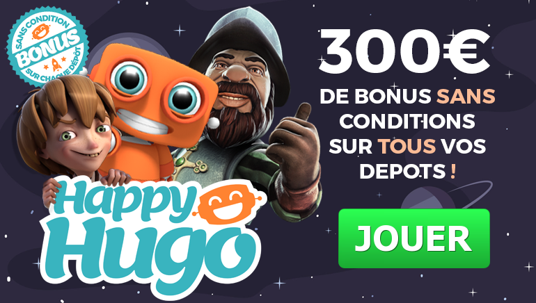 Happy hugo French Banner