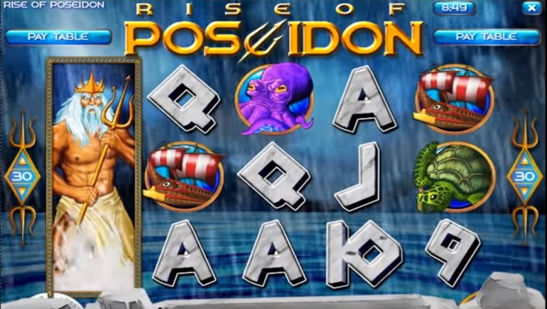 La Machine à Sous Ride of Poseidon Arrive chez les Casino's Rival Gaming