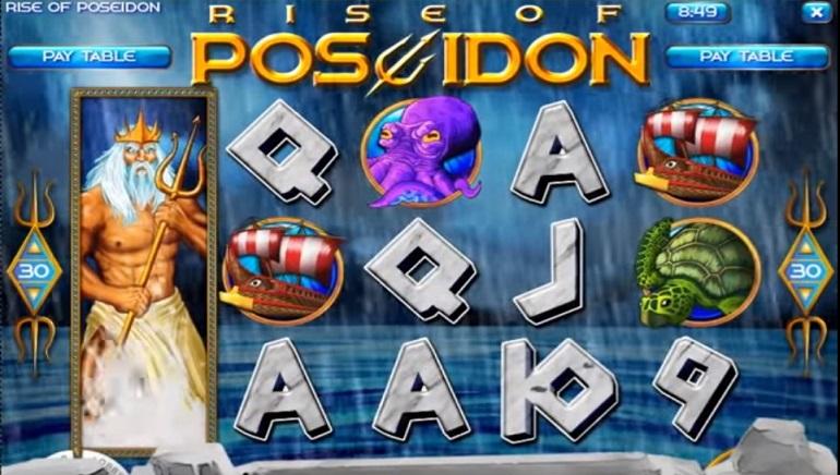 La Machine à Sous Ride of Poseidon Arrive chez les Casino's Rival Gaming