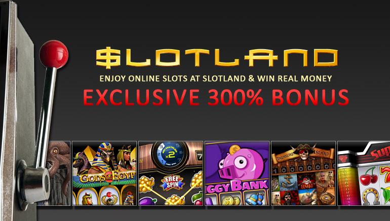 Bonus de bienvenue exclusif de 300% à Slotland pour les lecteurs d'OCR